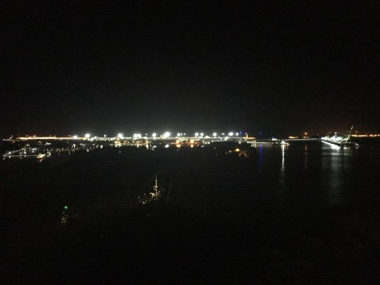 Gladstone at Night